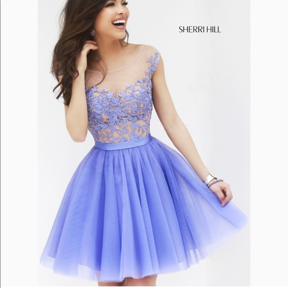 640f4d183d8 Sherri Hill Short Prom Dresses - Dress Nour
